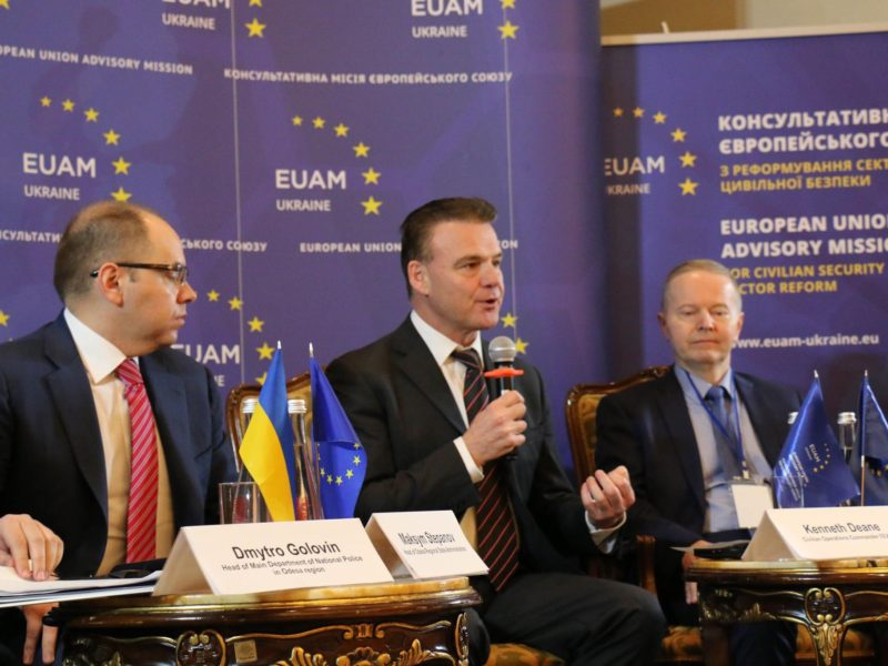 THE EU AND POLICE REFORM IN BOSNIA AND HERZEGOVINA AND UKRAINE