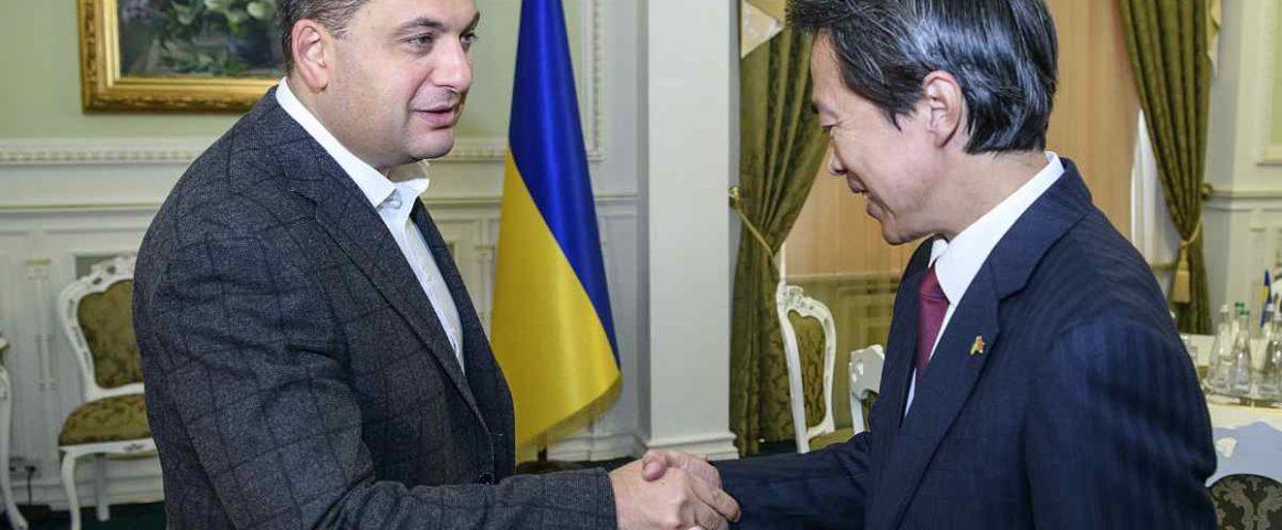 UKRAINE AND CHINA